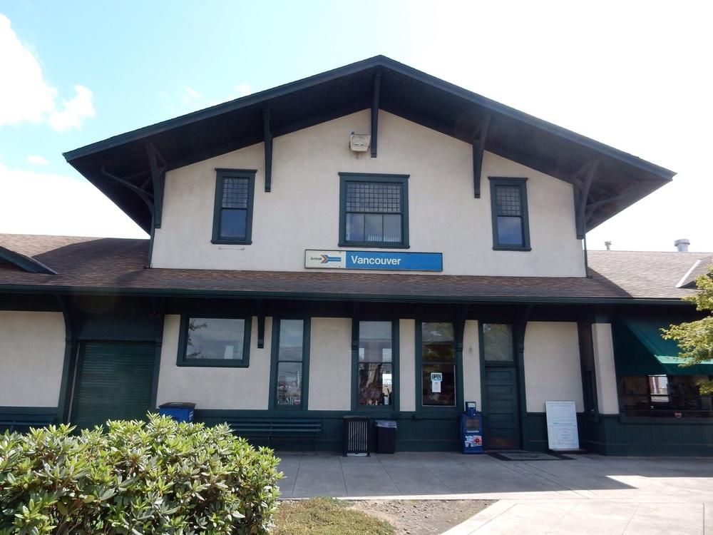 The depot.