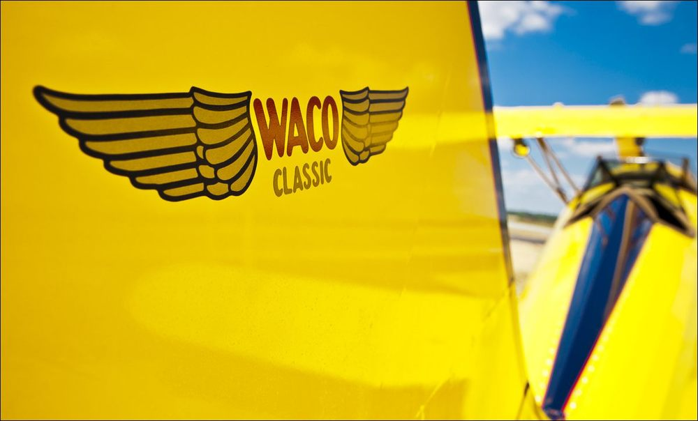 WACO Rudder Detail