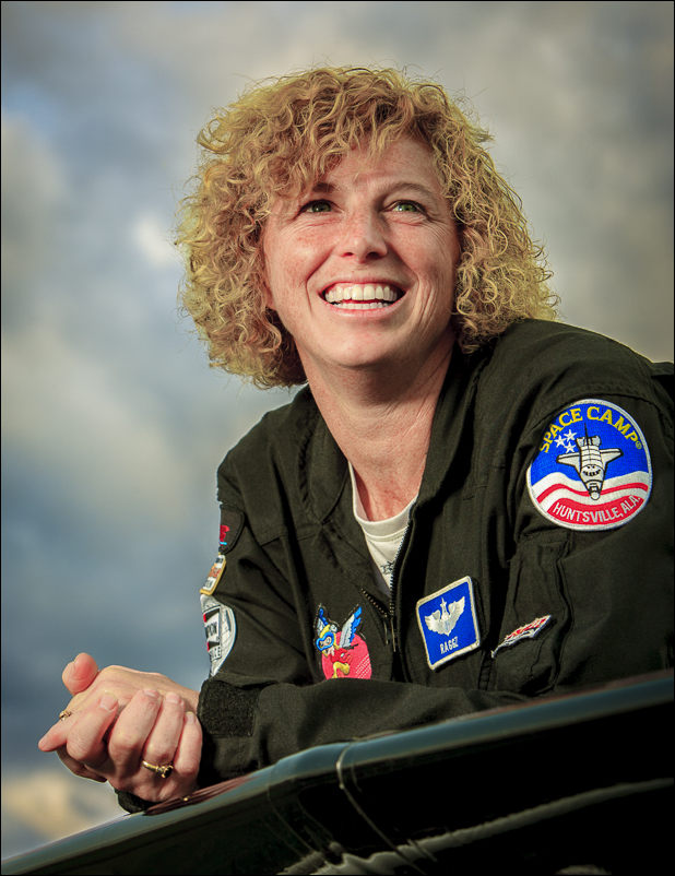 Air Force Col. Jill Long.