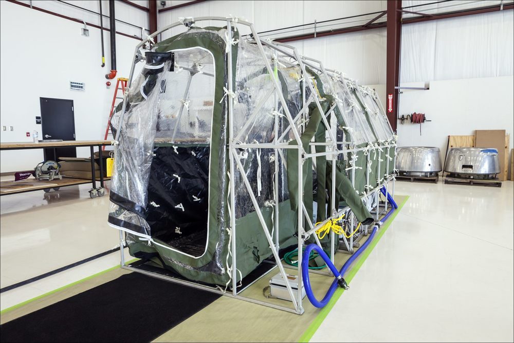 The Airborne Biological Containment System or ABCS. ©2014 John Slemp