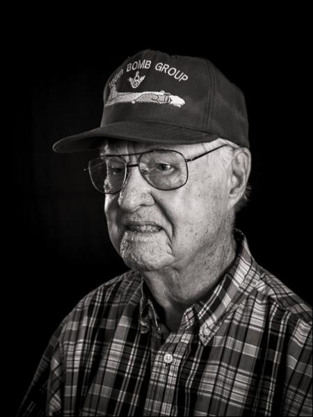Lewis Herron was a B-17 tail gunner...