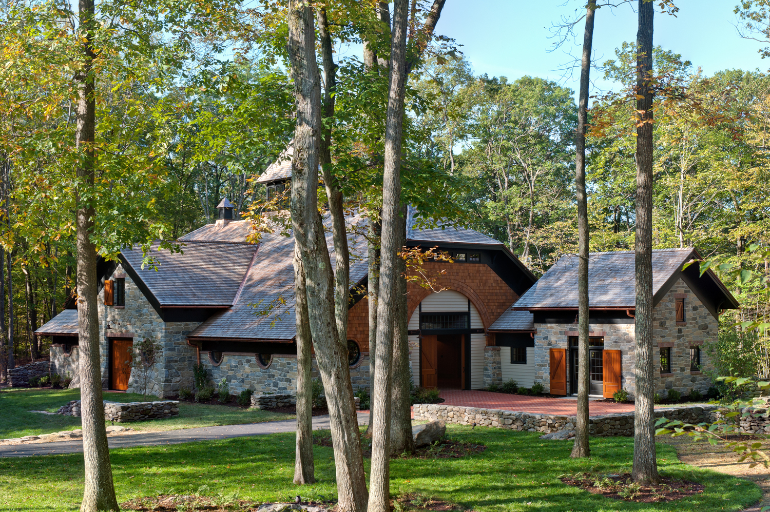 Timber Frame Carriage House — Home Enrichment Company