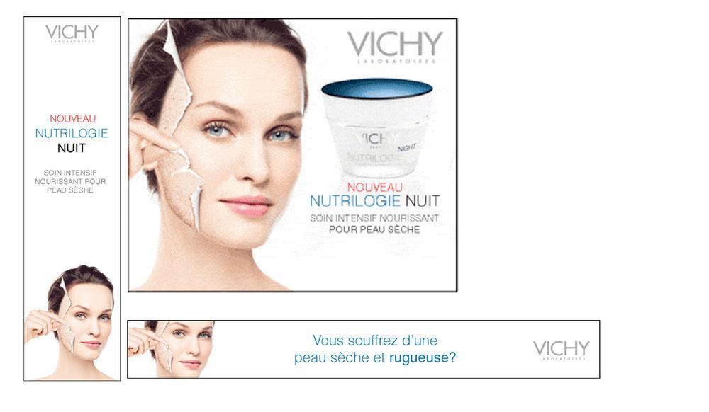 Vichy banner ads