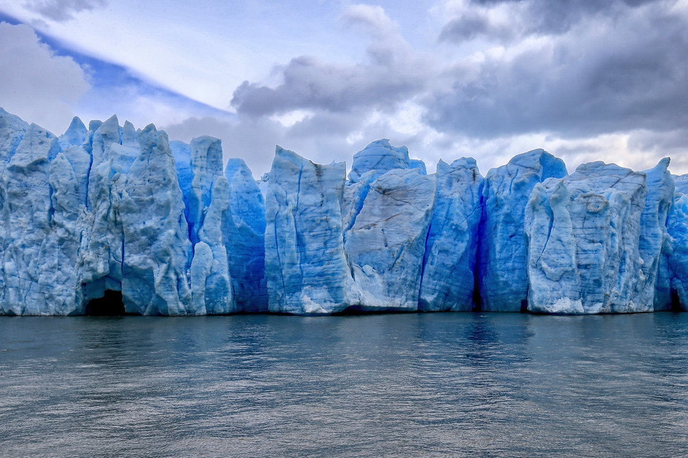 Gray Glacier Blue Ice