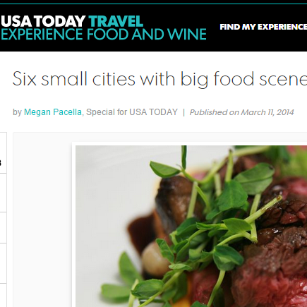 "USA TODAY  ""At Farmhaus, Chef Kevin Willmann and his team offer up amazing creations with fish and market vegetables."""