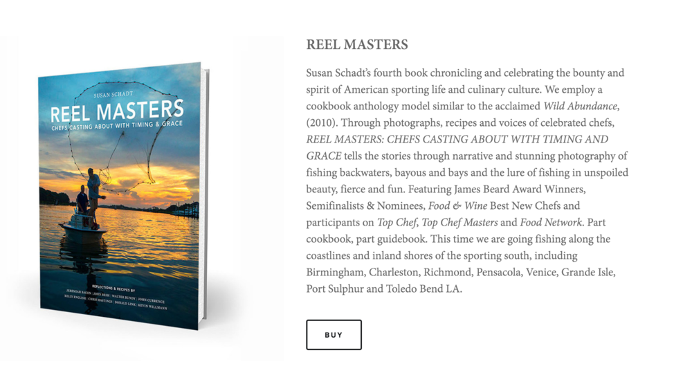 REEL MASTERS: Chefs Casting About with Timing & Grace is now available, featuring Farmhaus' Kevin Willmann. Through narrative and stunning photography REEL MASTERS showcases some of the country's most sought-after fishing spots and unknown gems. Willmann is featured in his own chapter where he takes you to his favorite fishing spot and shares some of his cherished recipes. Stop by susanschadtpress.com or your local bookstore to get your copy today.