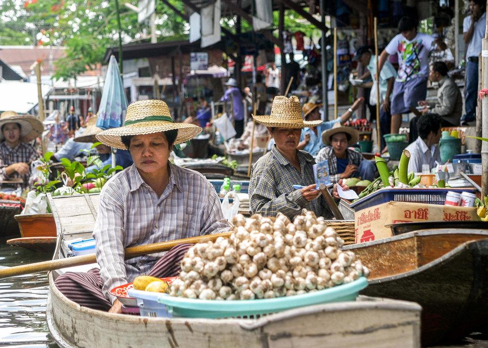 Floating Market, Bangkok Thailand