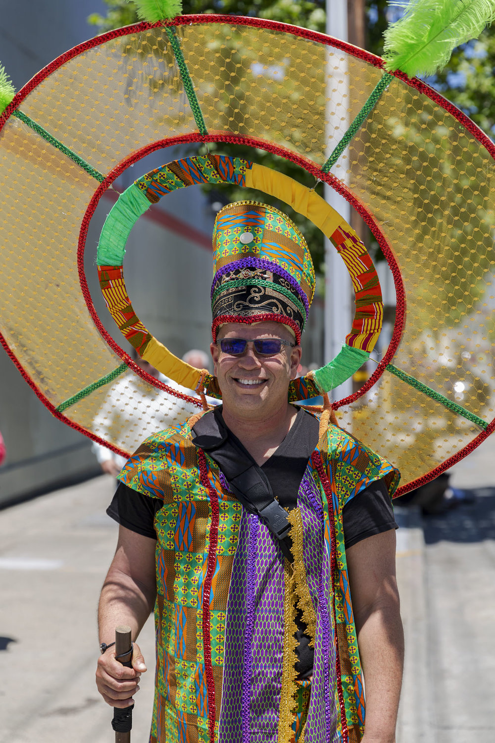 Carnival Performer, San Francisco
