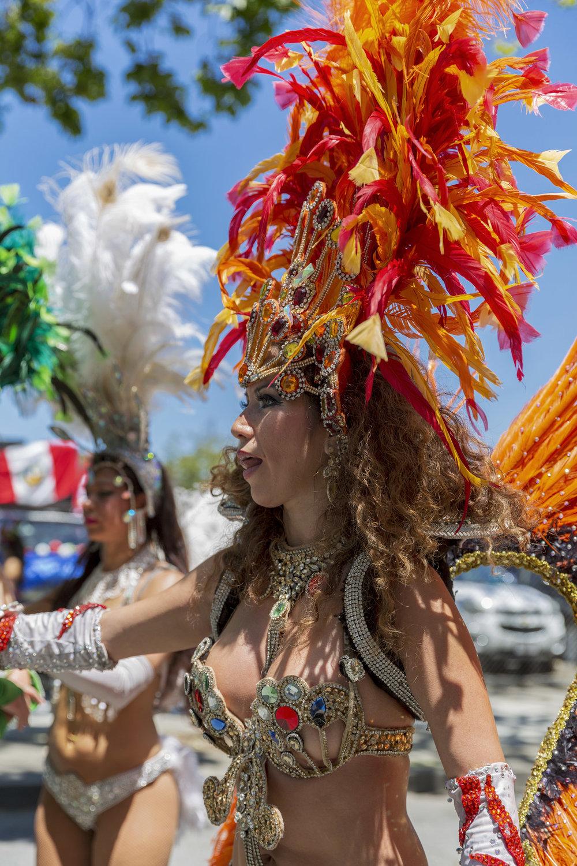 Carnival Street Performer, San Francisco