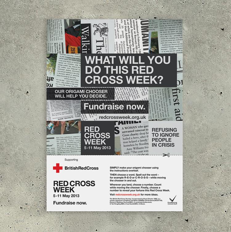 Red Cross Week Sarah Trentham Graphic Design