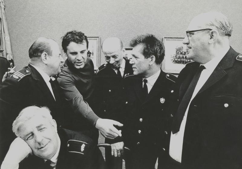 Miloš Forman directing The Firemen's Ball