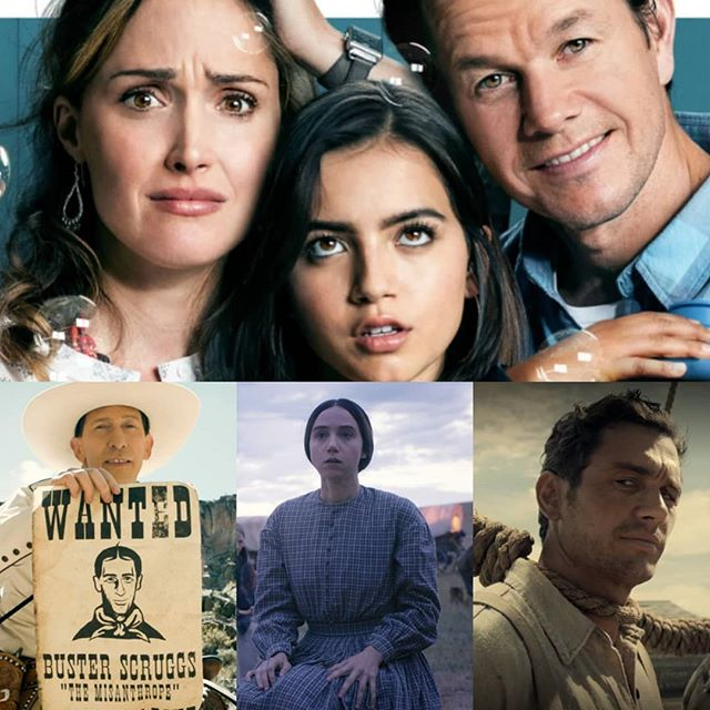 Our newest episode is available. Listen to our review of #InstantFamily and #BusterScruggs  Link is in the bio.