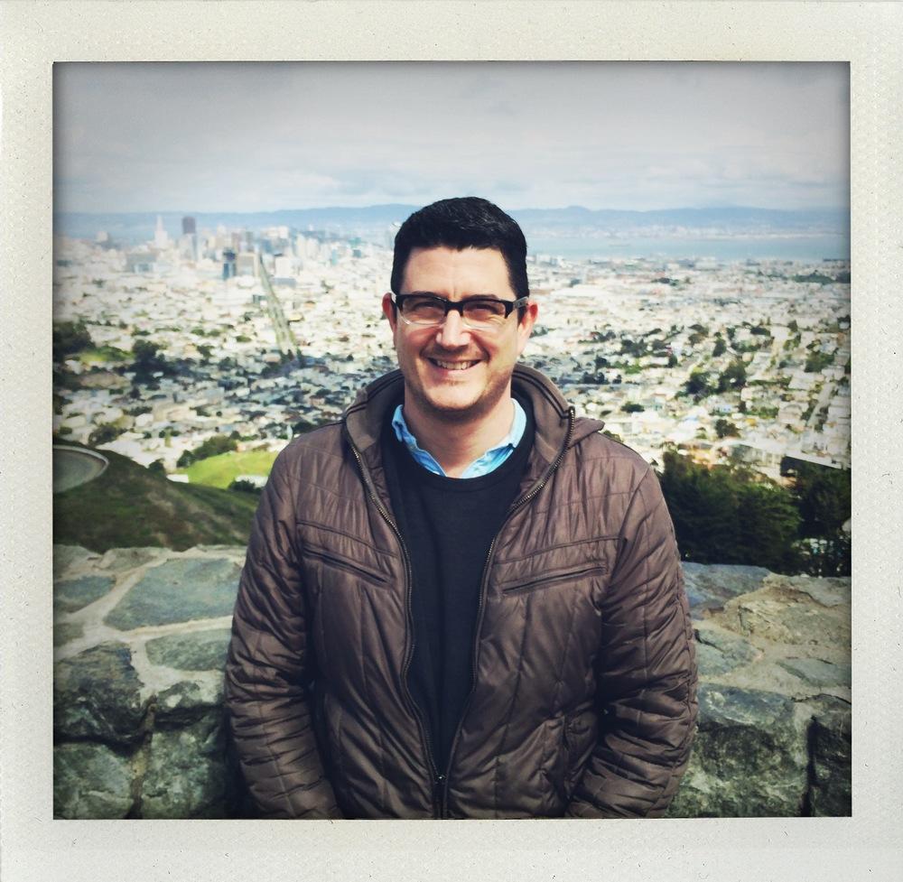 Nate Mahoney atop Twin Peaks