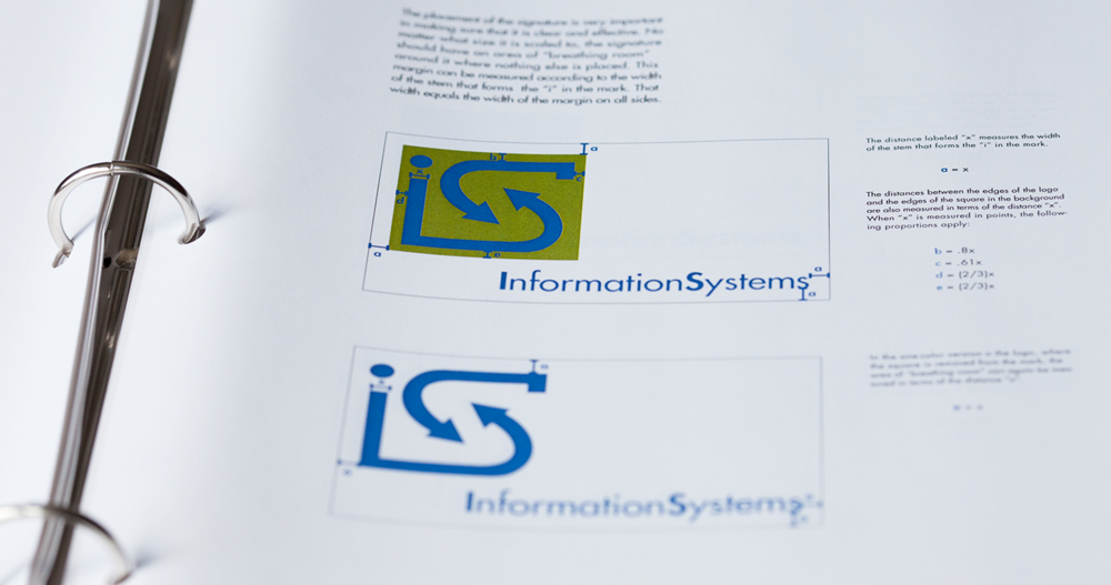 - The identity manual for the Information Systems Department at UMBC.