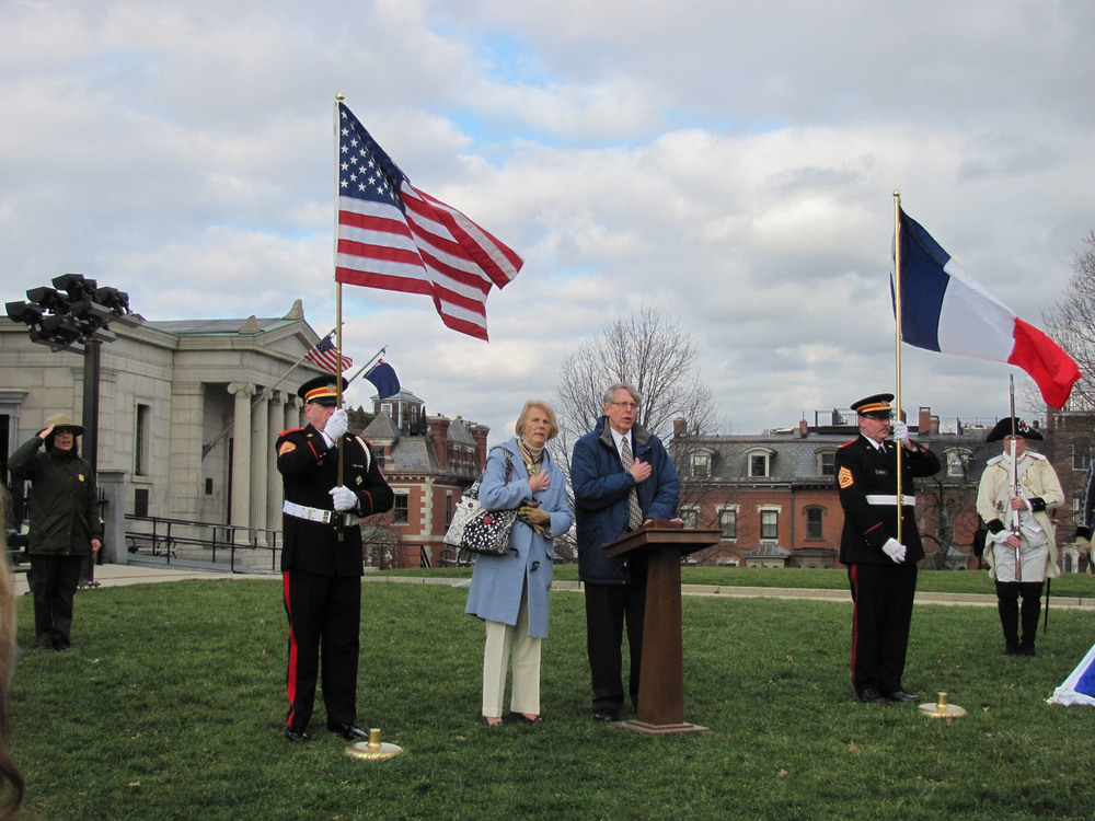 Alan Hoffman, Blanche Hunnewell and the Ancient and Honorable Artillery Company of MA