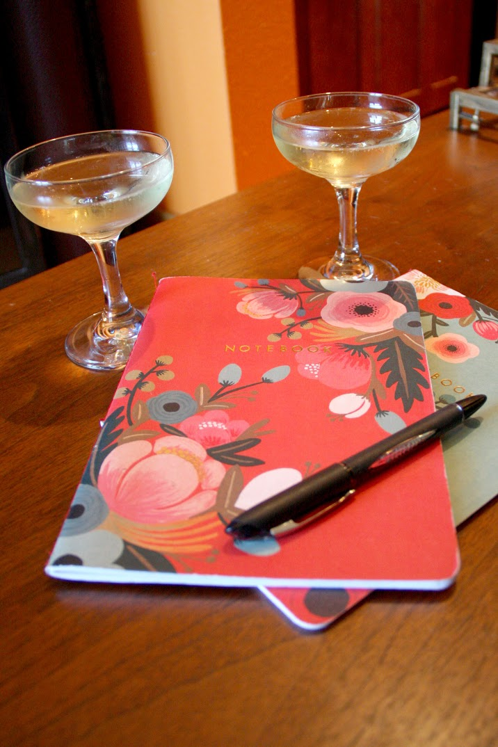 Champagne and Notebooks.jpg