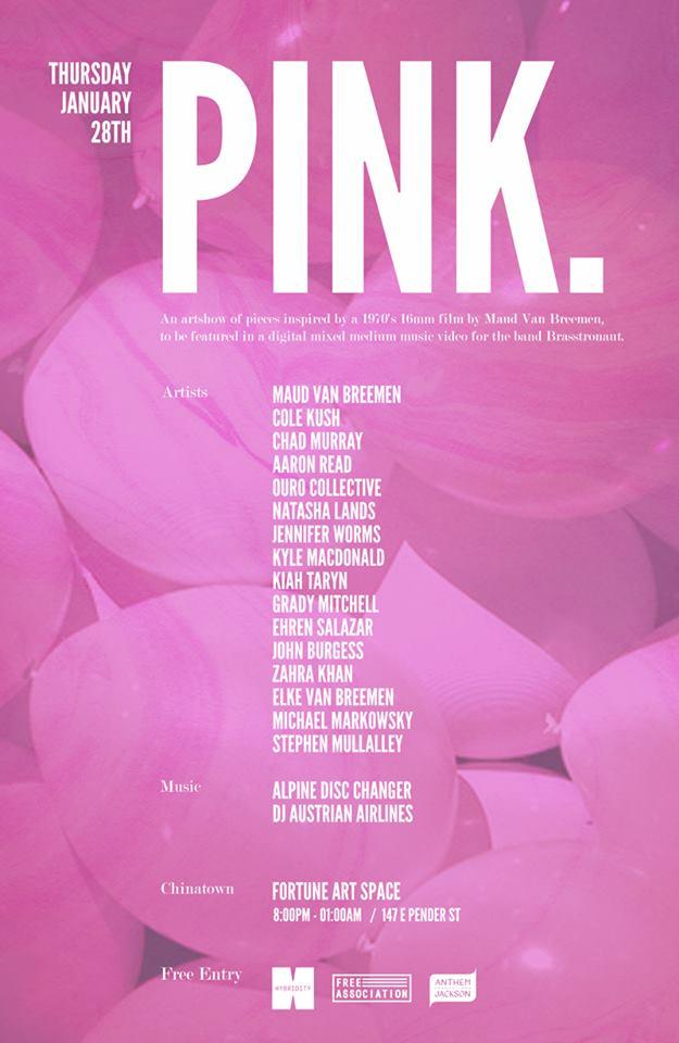 PINK art show