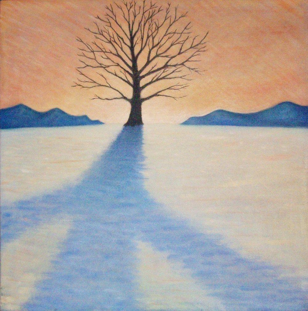 Peaceful Winter Tree