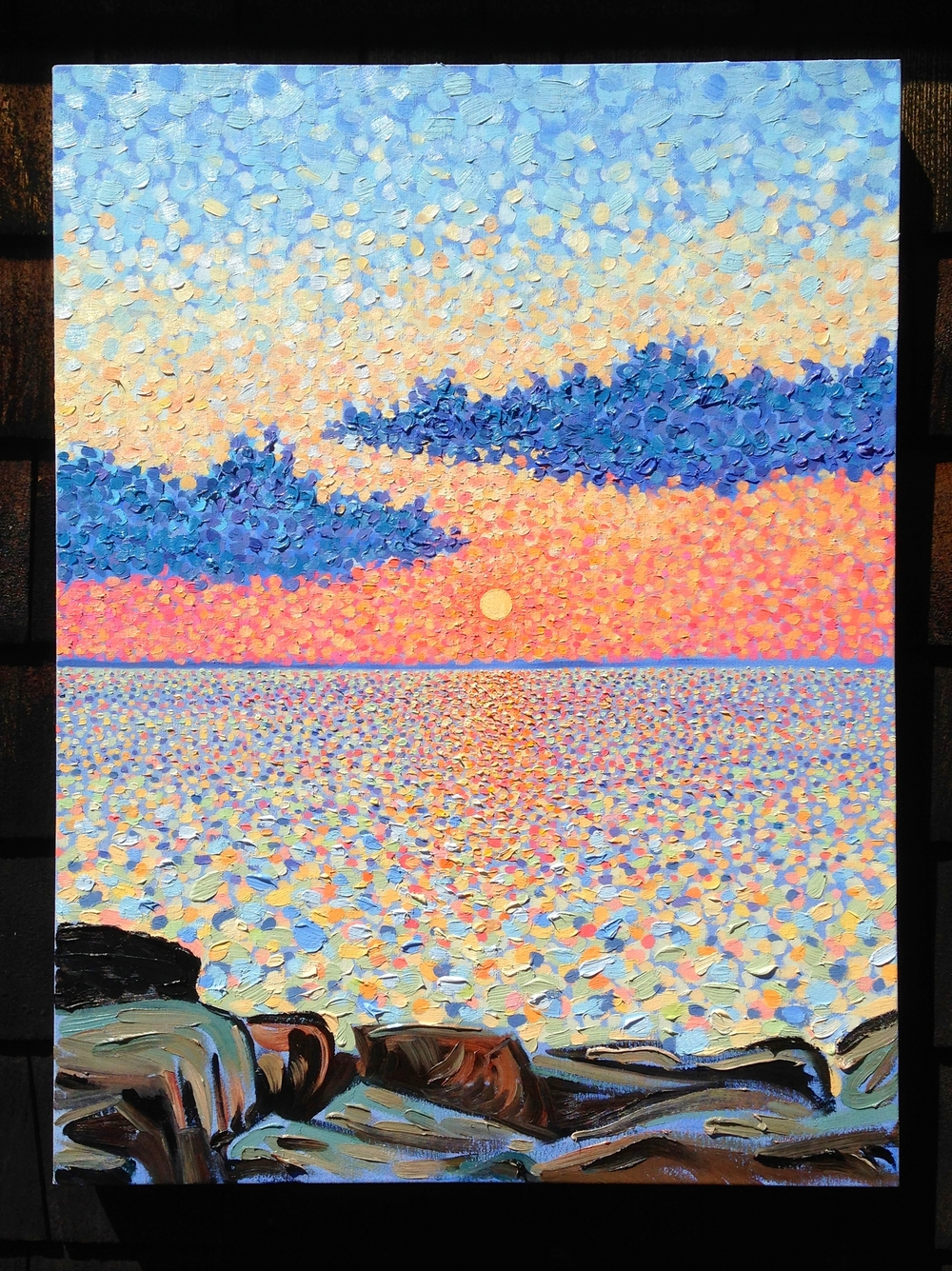 Cool Sunset oil 2013