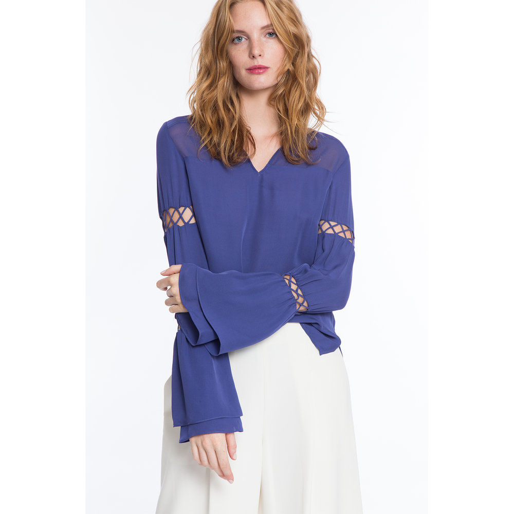 NORA SILK STRING TOP $278