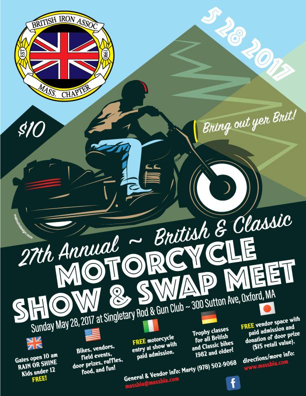 British Motorcycle Poster