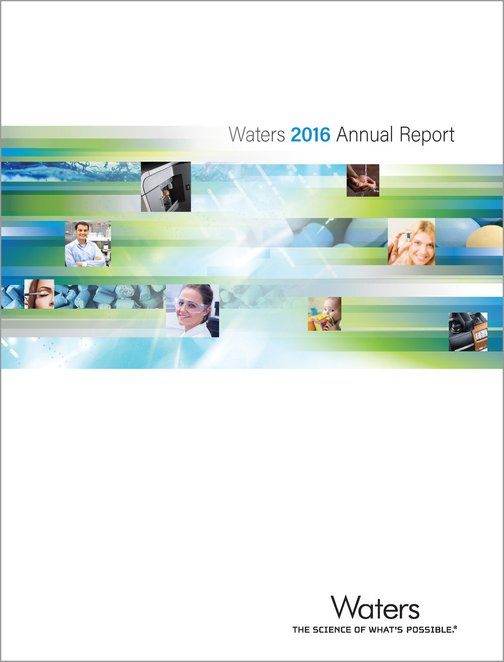 Waters 2016 Annual Report (cover)