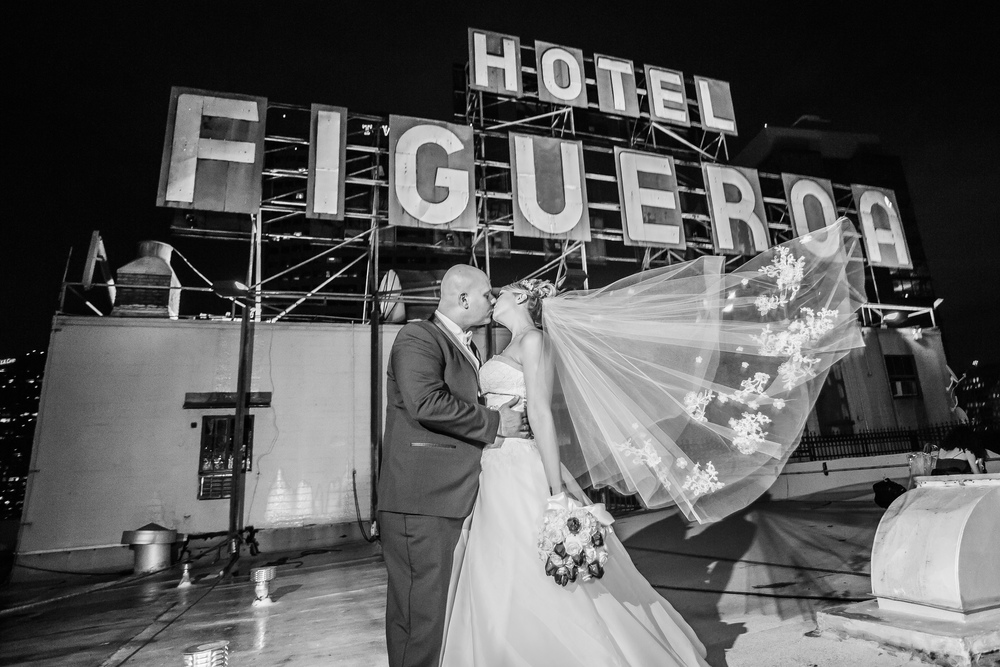 Agnes & Richard's Wedding at Hotel Figueroa Downtown Los Angeles