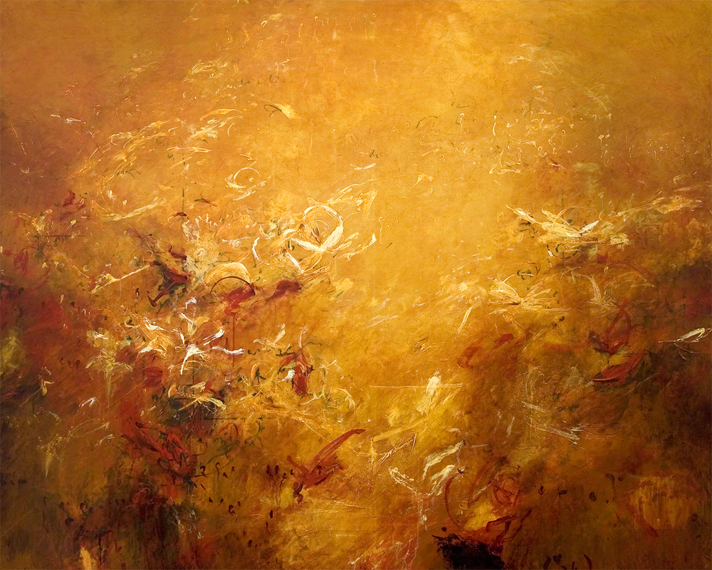"Optics of Euclid 07 2010, Acrylic on canvas,48"" x 60"""