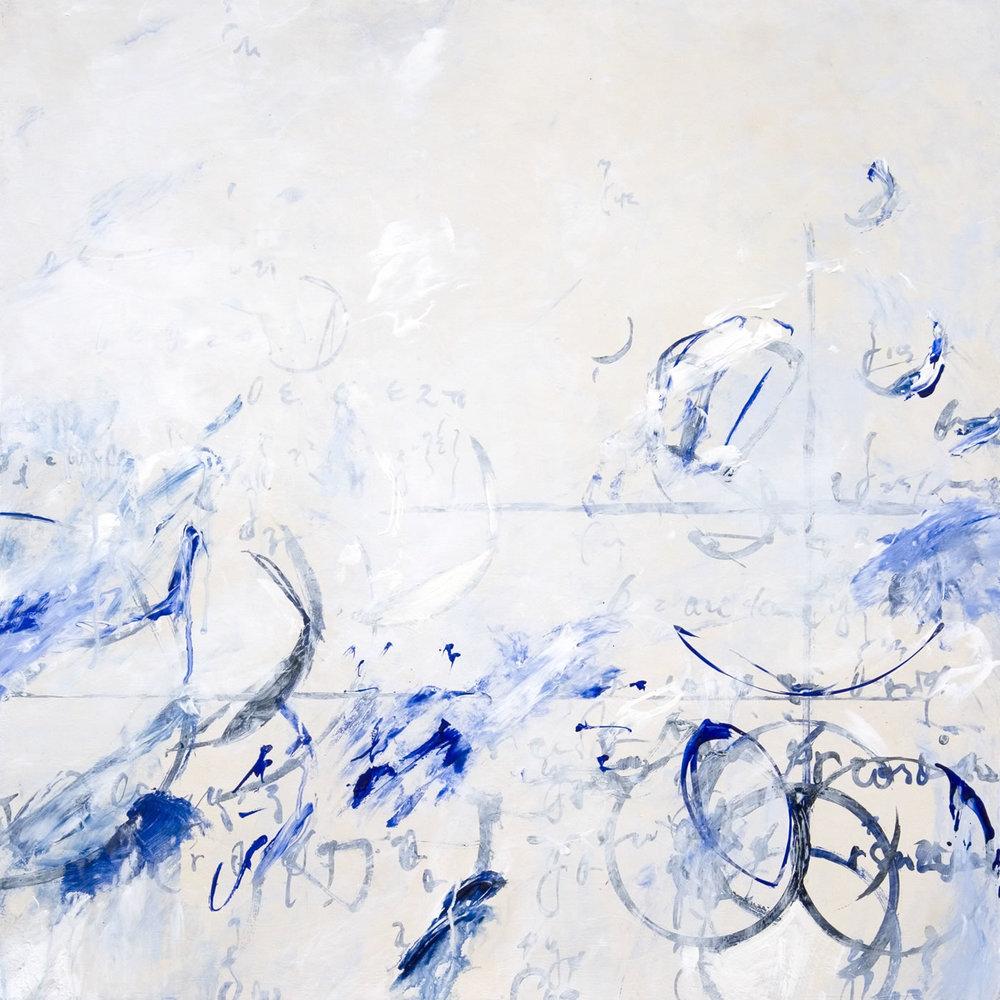 """Delft Optics 01 2010, Acrylic on canvas,24"""" x 24"""""""