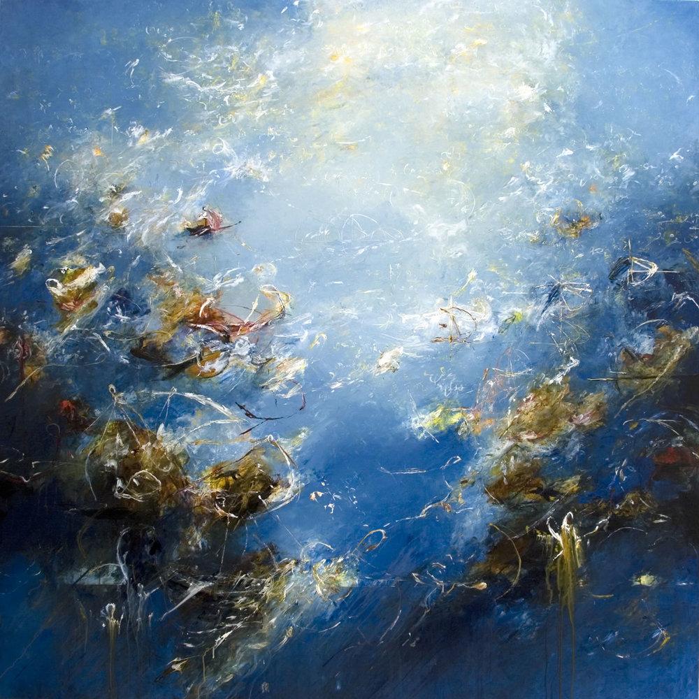 "Menelaus 01  2011, Acrylic on canvas, 72""x72"""