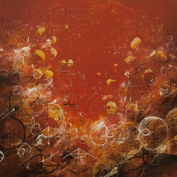 """2014 - Crown of Gold Limacons - 48"""" X 48"""""""