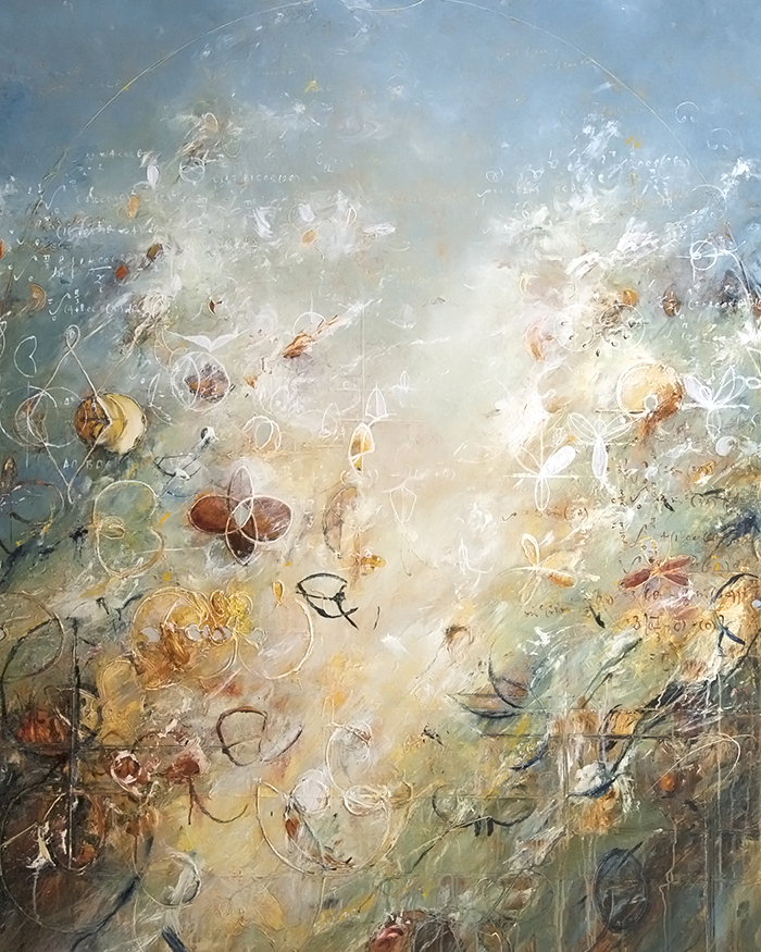 "2015 - Limacon Heights - 60"" X 48"""