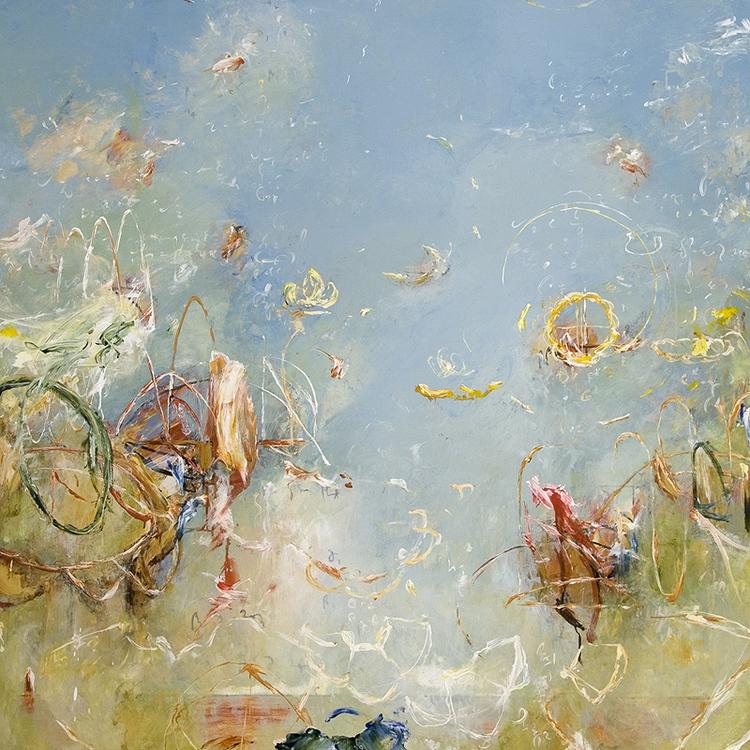 """2012 - Archimedes Seasons - 48"""" X 48"""""""
