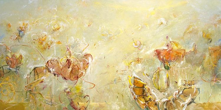 "2012 - Gardens of Archimedes 01 - 48"" X 96"""