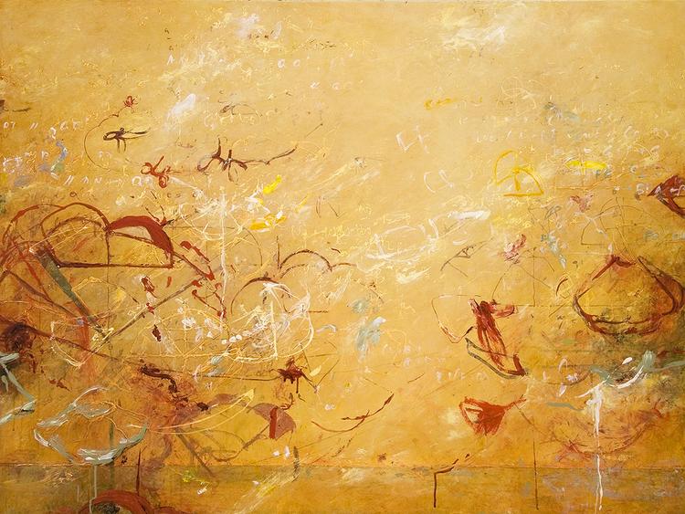 """2012 - Archimedes Palimpsest - 36"""" X 48"""""""