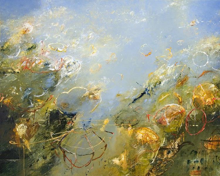 "2012 - Gardens of Archimedes 02 - 48"" X 60"""