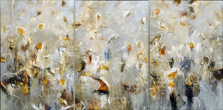"2006 - Toroids of Ganymede 01 + 02 + 03 - 72"" X 144"""