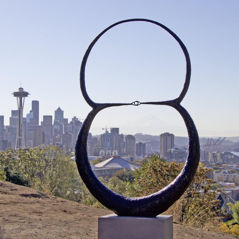 "2018, Venn Fidelities Sphere, 96 x 60 x 10"""