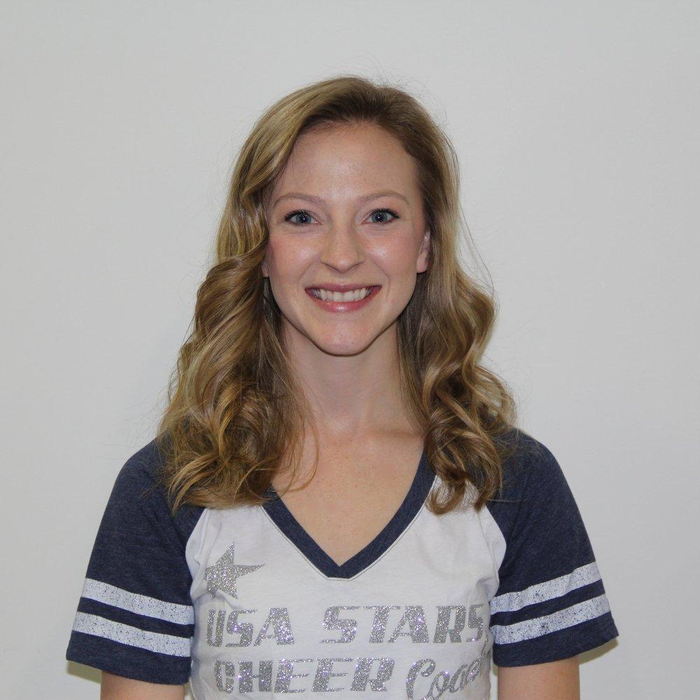 Heather Redding    Vice-President, Head Cheer Coach