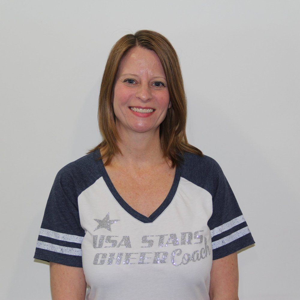 Jane Miller   Board Member, Head Cheer Coach