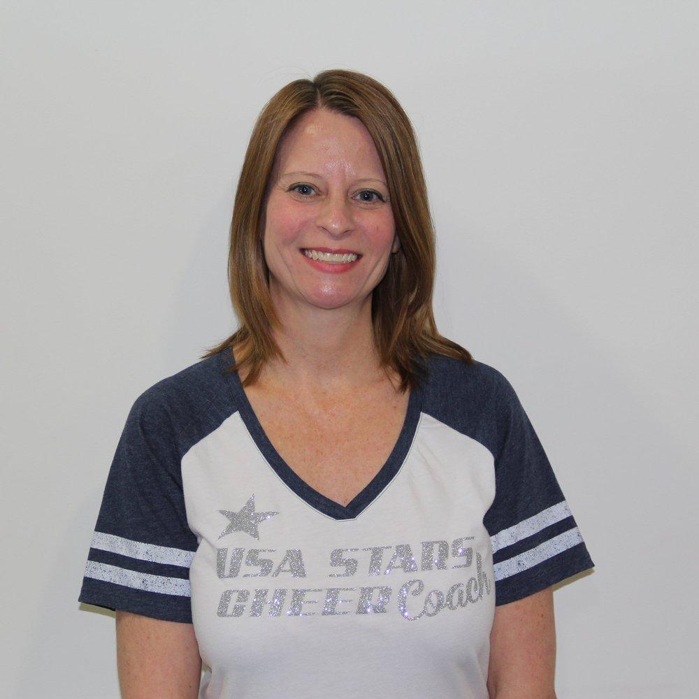 Jane Miller   Board Member, Head Cheer Coach