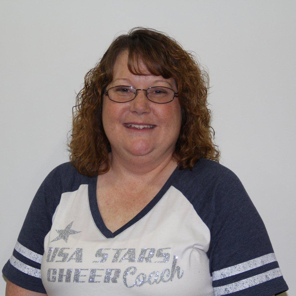 Denise Logan   Director, President, Head Cheer Coach