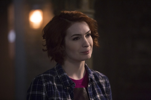 Felicia Day as the dear departed Chalie
