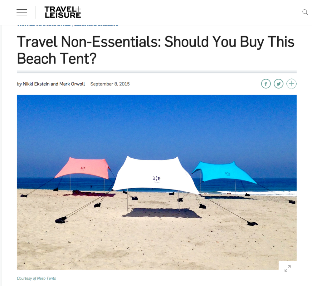 easy travel beach shade