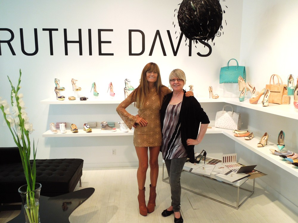 With Ruthie Davis in her office.JPG