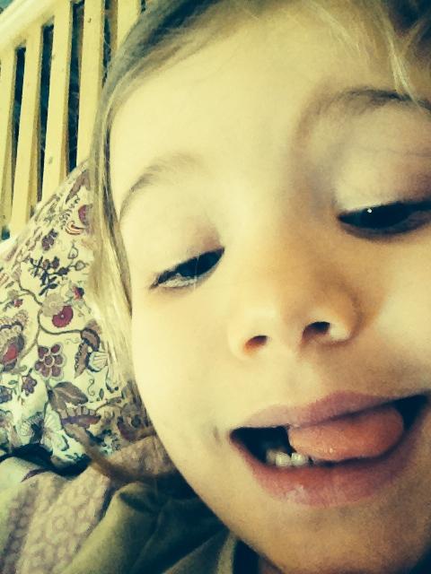 kids selfie