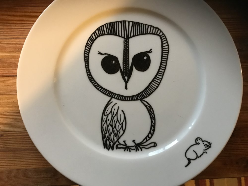 Feast with Owl - You will never dine alone.