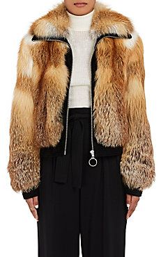 A.L.C. Boyce Red Fox Fur Coat