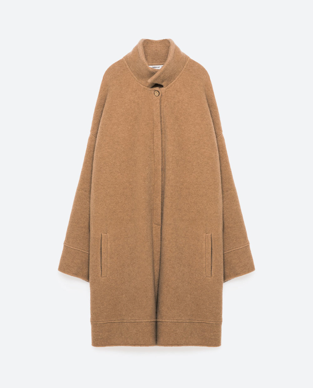 Zara High Collar Coat