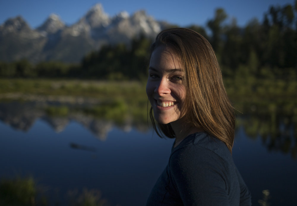 Spontaneous sunrise hike in Grand Teton National Park while visiting Jackson Hole, Wyo.  Photo:  Nick Cote
